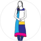 Colour-block Kurti